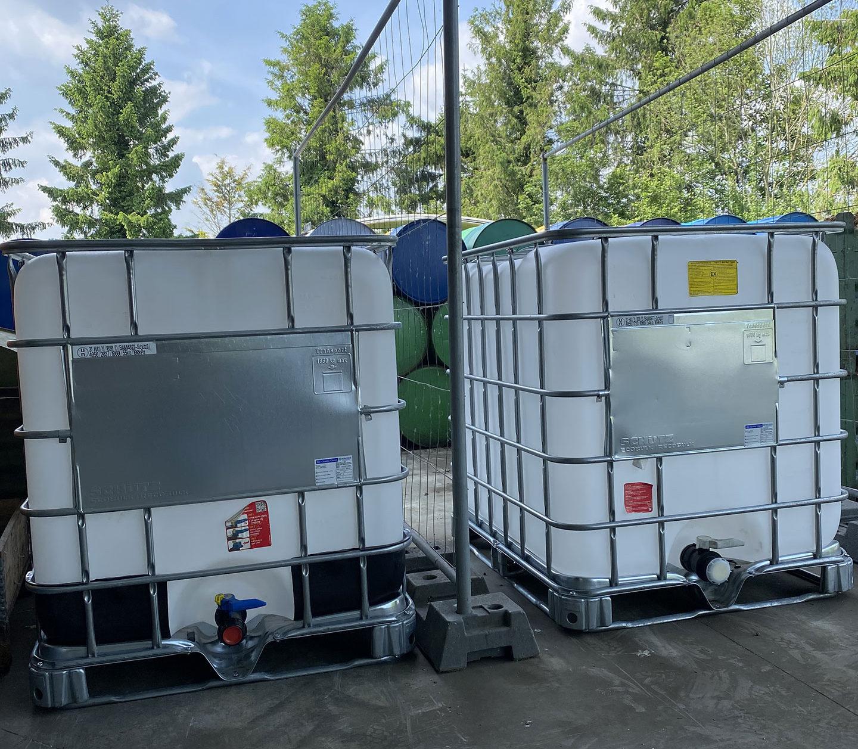 Des containers pour protéger notre environnement