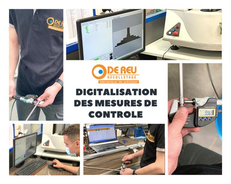La digitalisation des mesures de contrôle